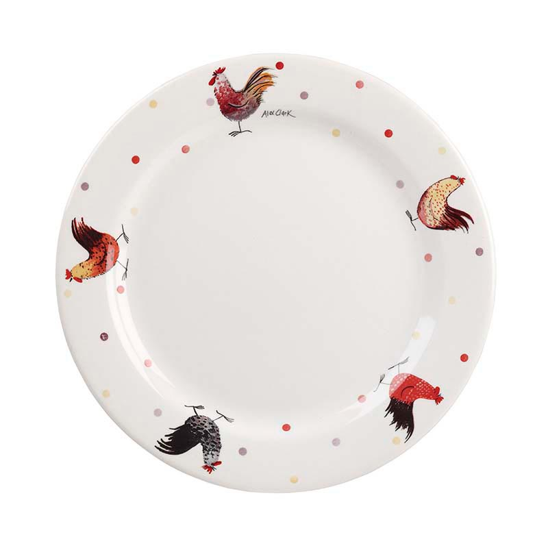AC Rooster Dinner Plate