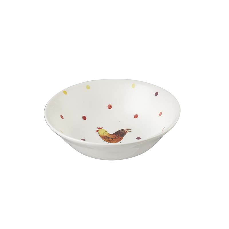 AC Rooster Oatmeal Bowl 15.5cm