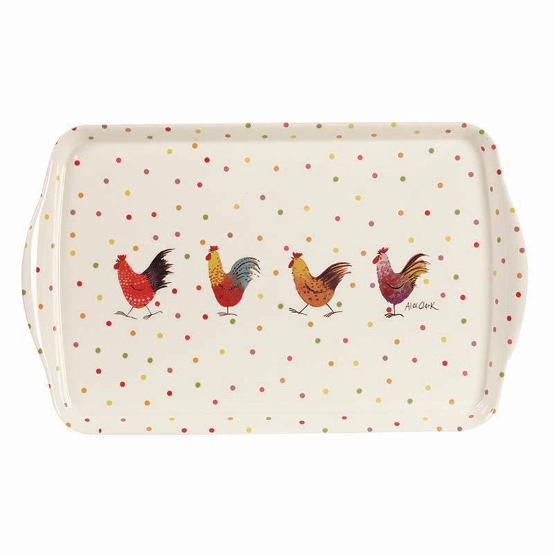 AC Rooster Melamine Tray