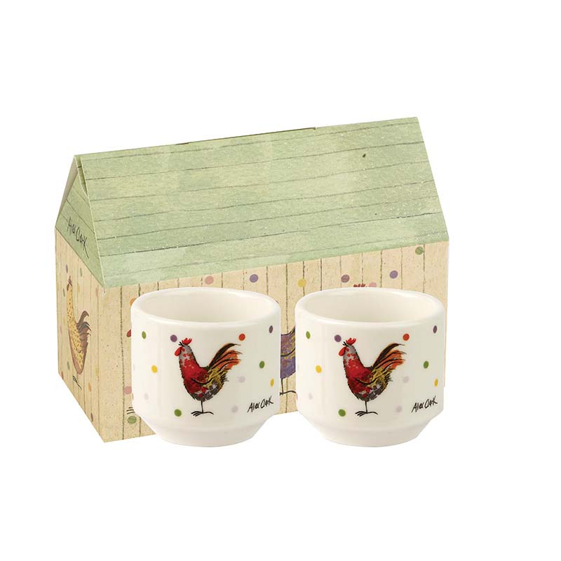 AC Rooster Stacking Egg Cups