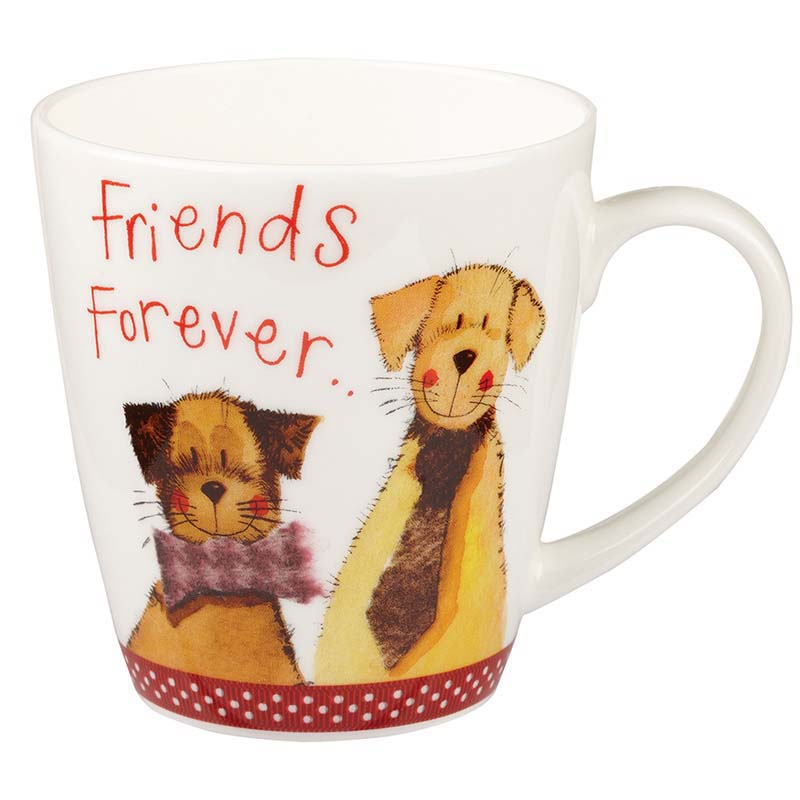 Friends Forever Bone China Mug