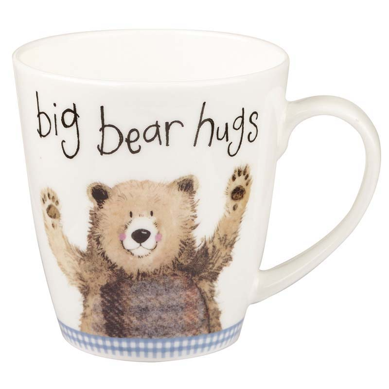 Big Bear Hugs Bone China Mug