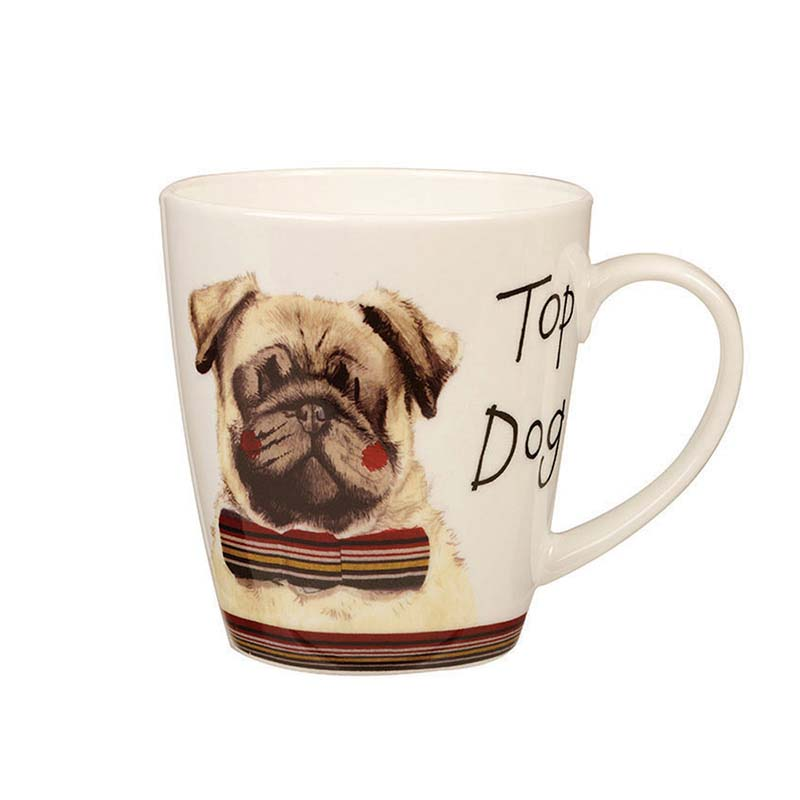 Top Dog Bone China Cherry Mug