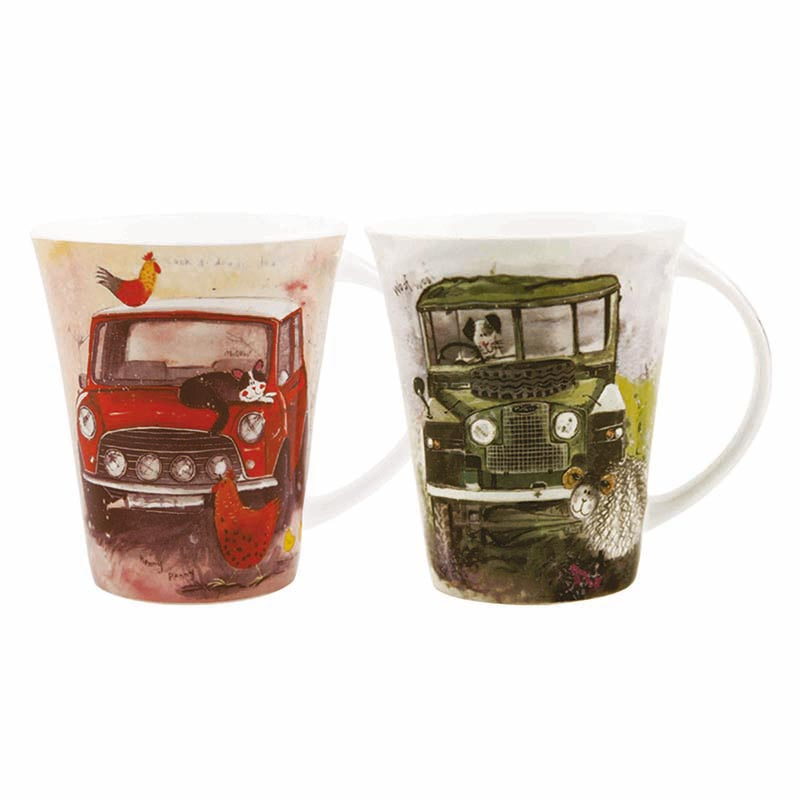 Alex Clark Vehicles Mugs