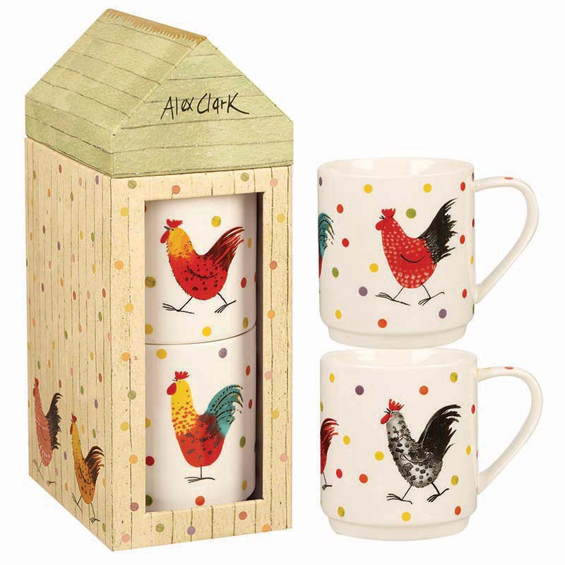AC Rooster Stacking Mug