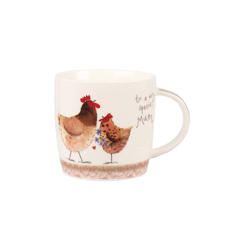 AC Spring Chicks Mum Mug in Hatbox
