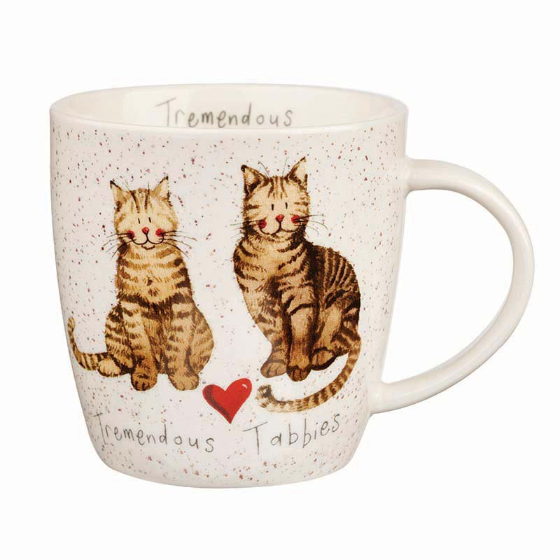 Alex Clark Tremendous Tabbies Squash Mug