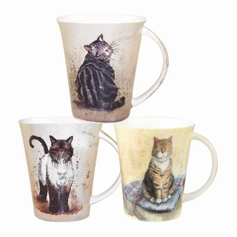 Assorted Cats Mugs