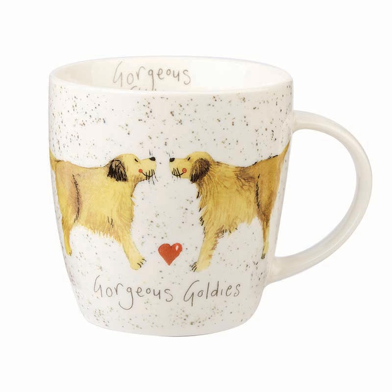 Alex Clark Gorgeous Goldies Squash Mug