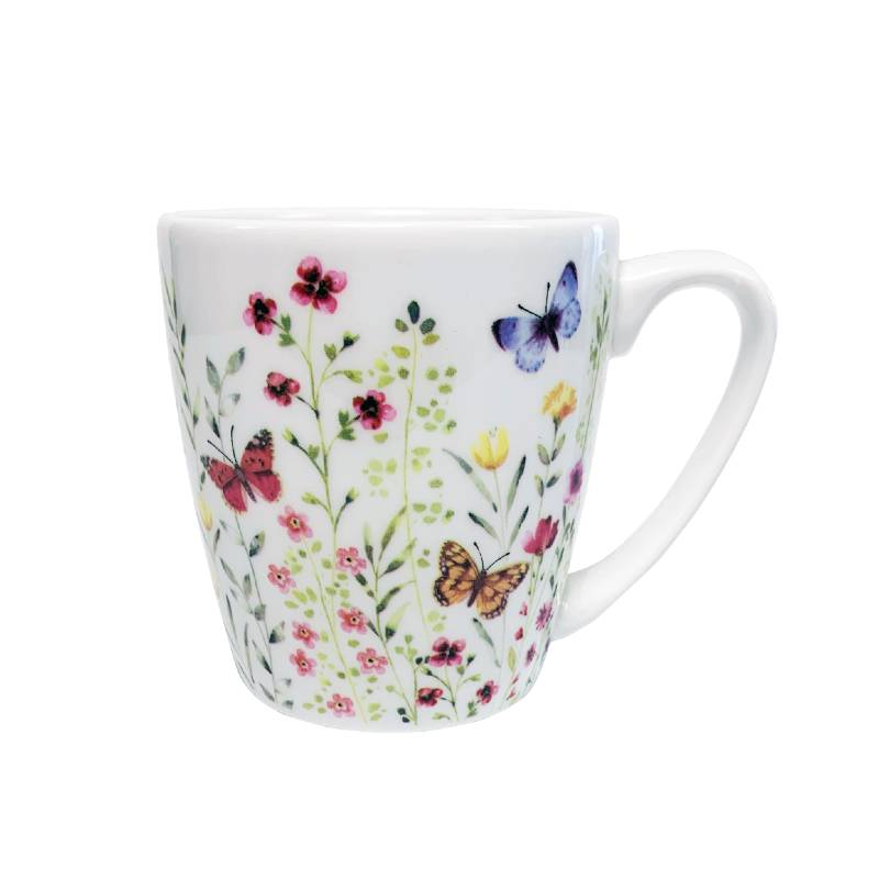 Butterfly Watch Acorn Mug