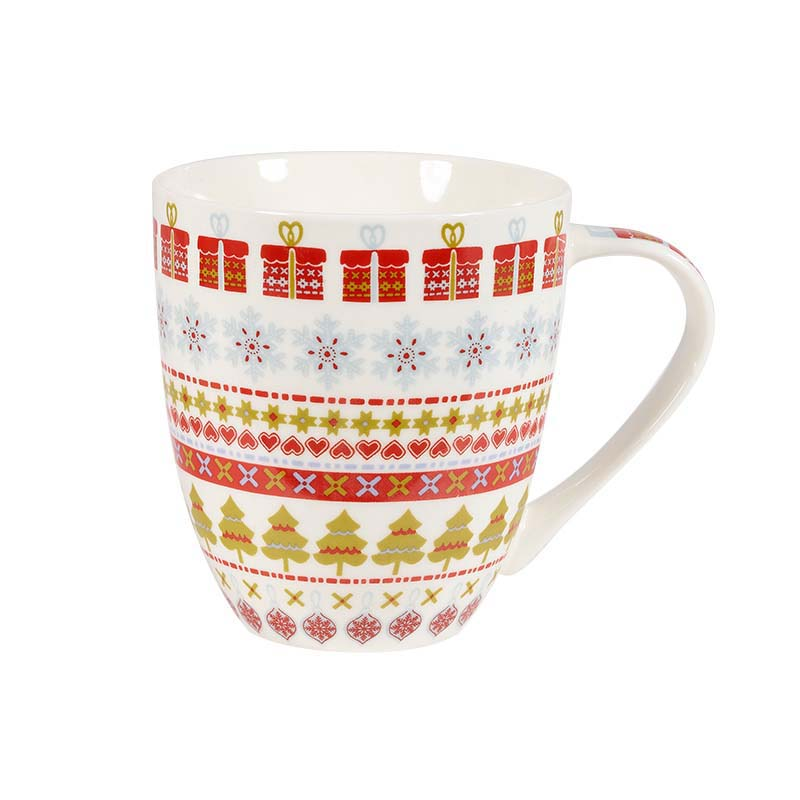 The Caravan Trail Snowflake Crush Mug