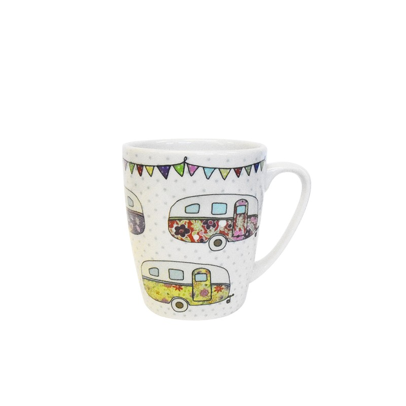 The Caravan Trail Caravans Oak Mug