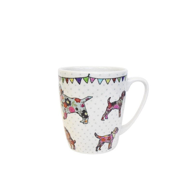 The Caravan Trail Dogs Oak Mug