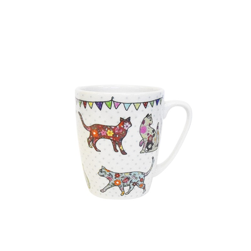 The Caravan Trail Cats Oak Mug