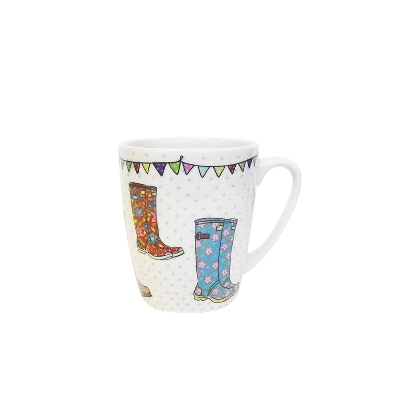 The Caravan Trail Wellies Oak Mug