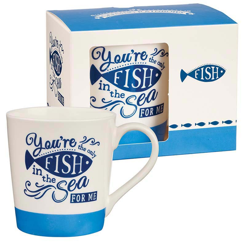 Fish in the Sea Bone China Mug