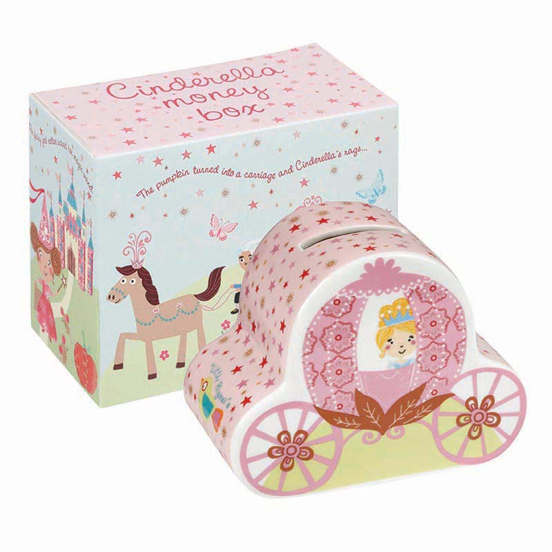 Little Rhymes Cinderella Money Box