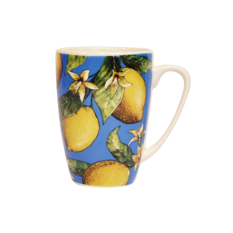 Couture Fruits Lemons Rowan Mug