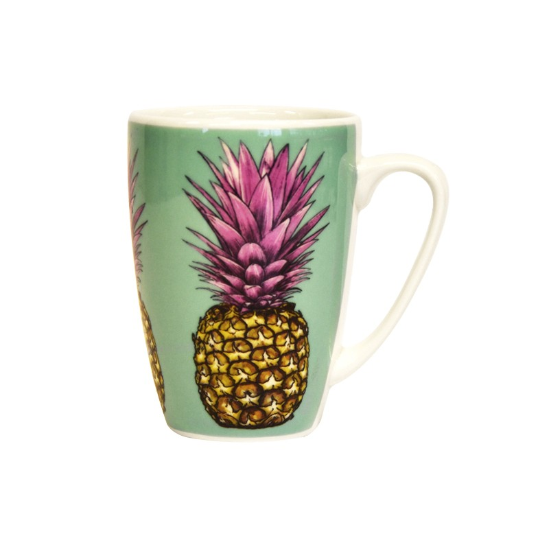 Couture Fruits Tropical Pineapples Rowan Mug
