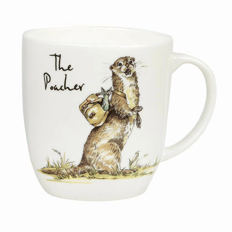 The Poacher Bone China Mug