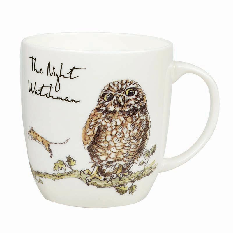 The Night Watchman Bone China Mug