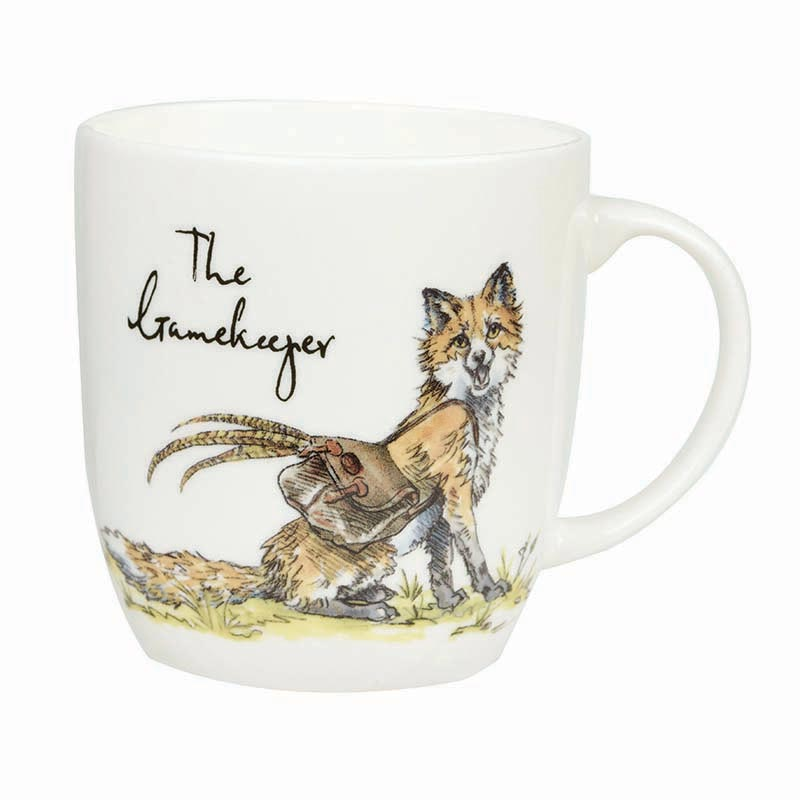 The Gamekeeper Bone China Mug