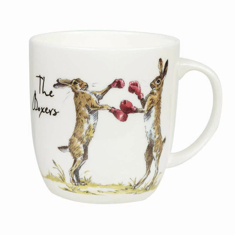 The Boxers Bone China Mug