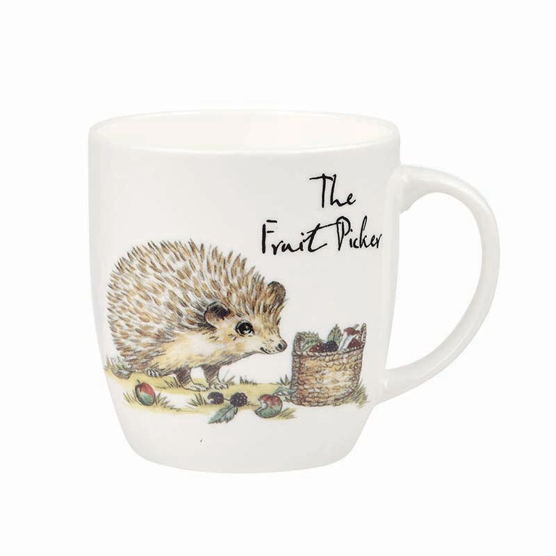 The Fruit Picker Bone China Mug