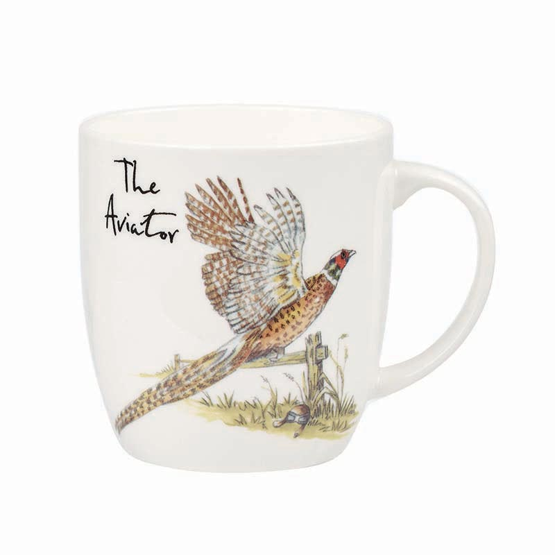 The Aviator Bone China Mug