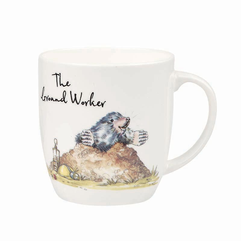 The Groundsman Bone China Mug
