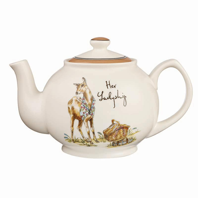 Country Pursuits Her Ladyship Stanley Teapot