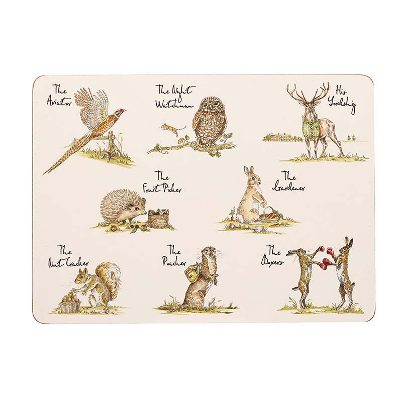 CP Set of 6 Placemats