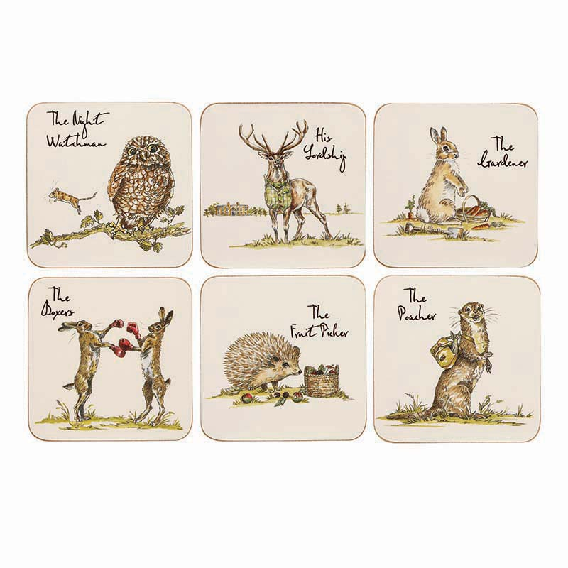 CP Set of 6 Assorted Coasters