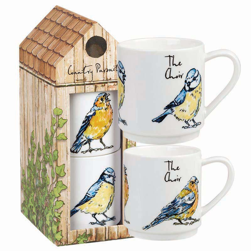 CP The Choir Stacking Mug Set 320ml Giftbox