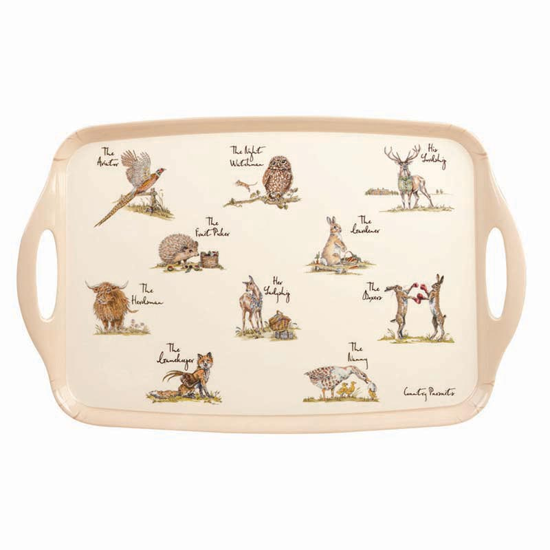 Country Pursuits Melamine Tray
