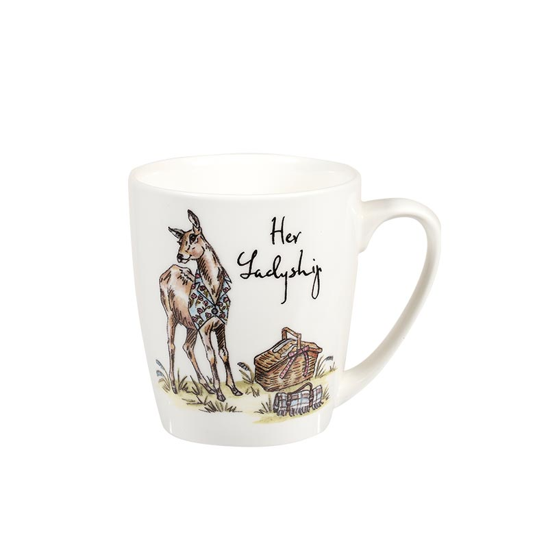 Country Pursuits Her Ladyship Acorn Mug