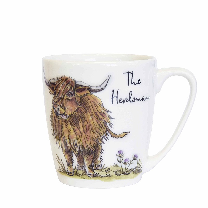 Country Pursuits The Herdsman Acorn Mug