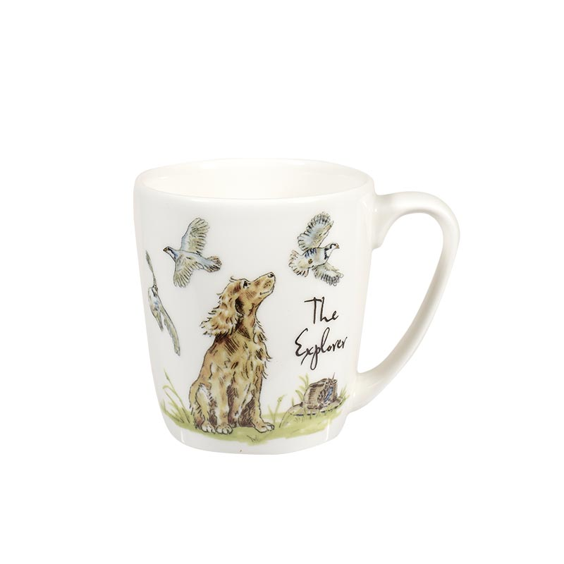 Country Pursuits The Explorer Acorn Mug