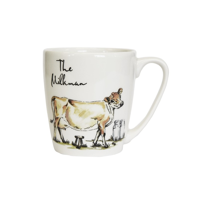 Country Pursuits The Milkman Acorn Mug