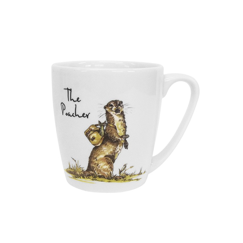 Country Pursuits The Poacher Acorn Mug