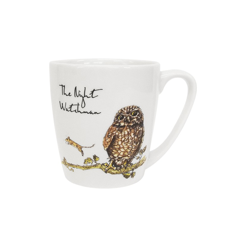 Country Pursuits The Night Watchman Acorn Mug