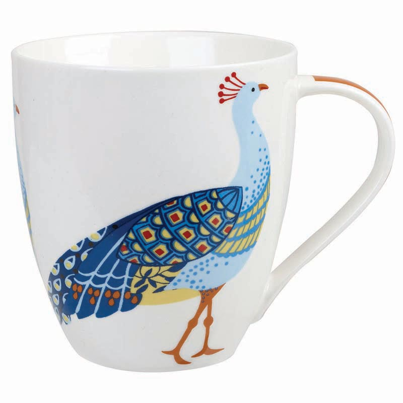 Peacock Crush Mug
