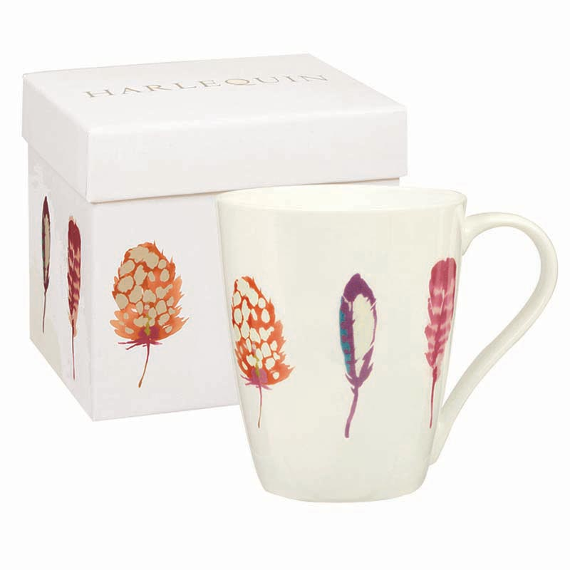 Limosa Papaya Bone China Mug