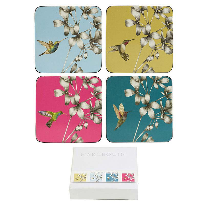 Amazilia Coasters Set of 4