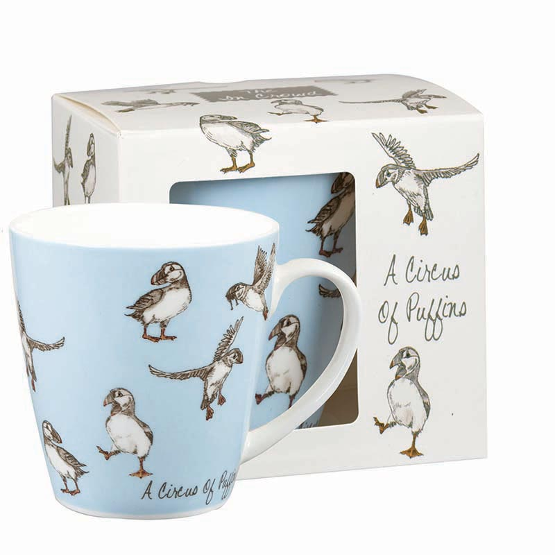 A Circus of Puffins - Mug in Gift Box
