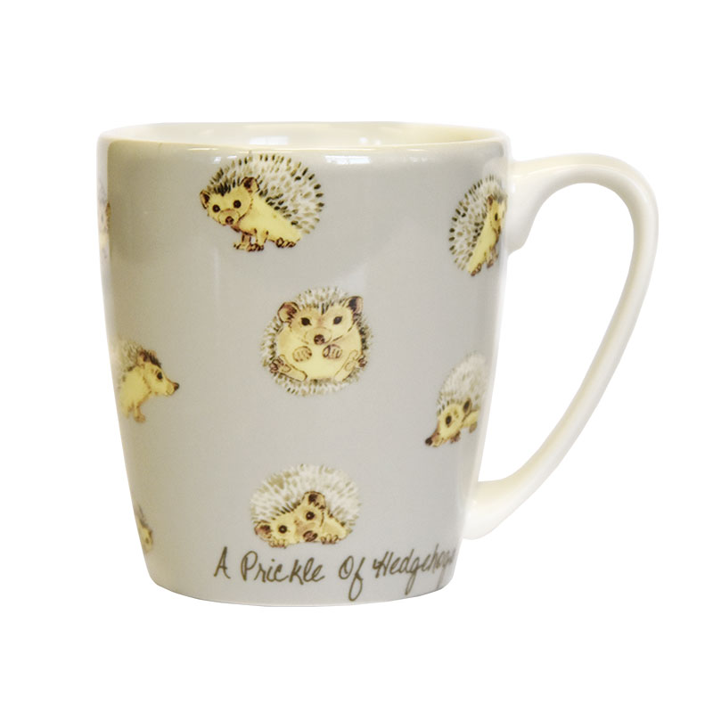 The In Crowd A Prickle of Hedgehogs Acorn Mug