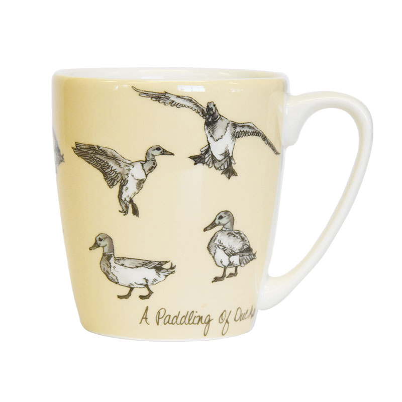 The In Crowd A Paddling of Ducks Acorn Mug