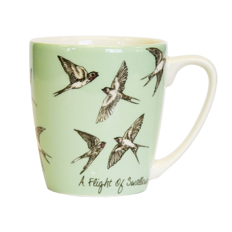 The In Crowd A Flight of Swallows Acorn Mug