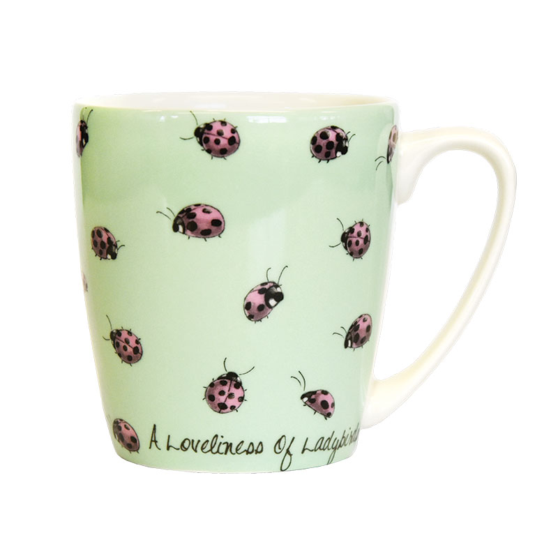 The In Crowd A Loveliness of Ladybirds Acorn Mug