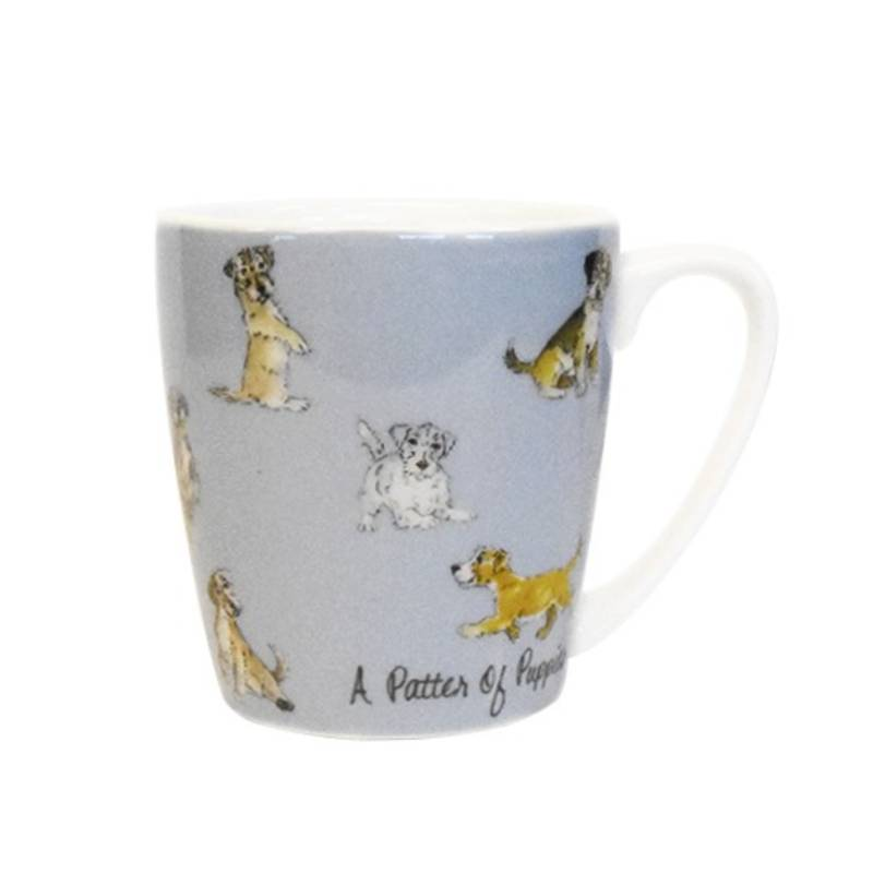 The In Crowd Patter Of Puppies Acorn Mug